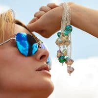 Beach Babe Necklace | Sea & Sand | Julie Fountain